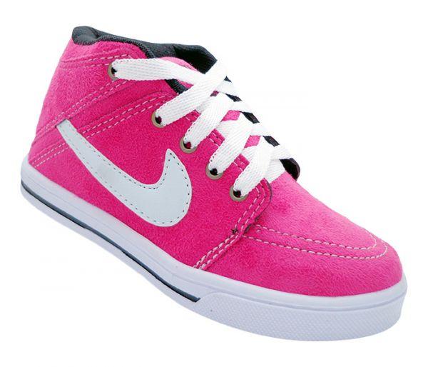 4a88f58e369 Tênis Infantil Nike Suketo Cano Médio Pink - Magazine Barato