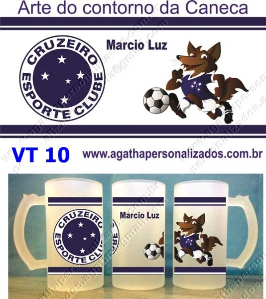 Canecas de Chopp do Cruzeiro (VT 10) - Agatha Presentes Personalizados 196c42e7f56b2
