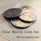 Clear Matrix Coin Set (DVD and Gimmick) #1281