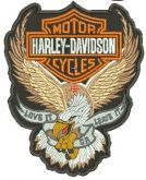 Harley Davidson Águia Matriz para Bordar