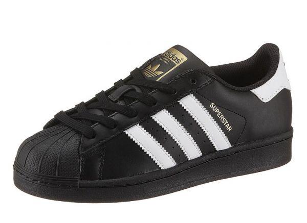 336eee7015a Tênis Adidas Super Star - Preto Branco - Shop Tênis Multimarcas