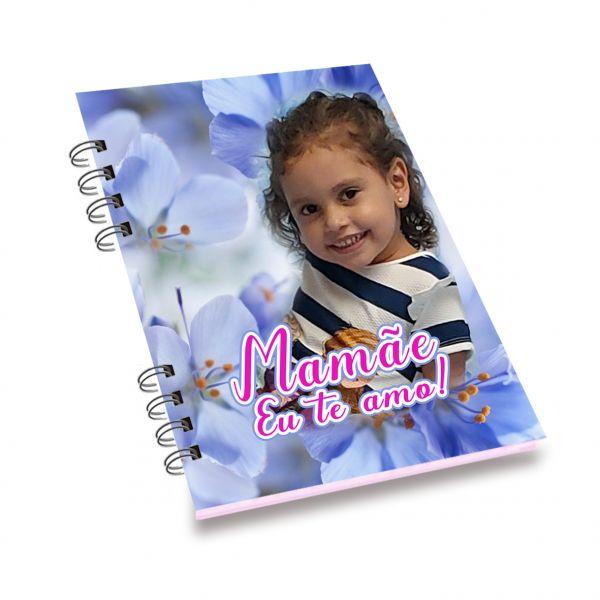 Caderno personalizado 14,8x21cm  100 folhas