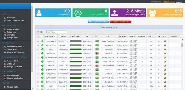 Painel e Creditos IPTV Infinity®+20 Creditos - Infinity TV