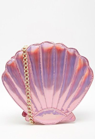 Clutch/Bolsa Concha Mermaid [Pronta Entrega]