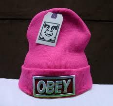 93d94ab27855e Gorro OBEY rosa - SWAG IMPORTADOS