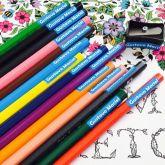 Kit Adesivos para Identificação de Material Escolar a prova dagua