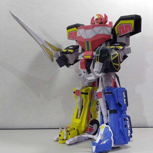 Megazord Transformável