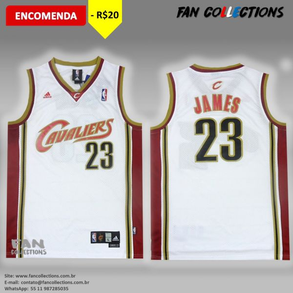 e0542aab0 Regata Adidas NBA Cleveland Cavaliers LeBron James - FAN COLLECTIONS