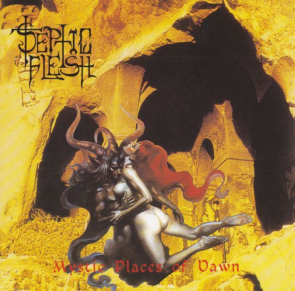 - CD Septic Flesh ‎– Mystic Places Of Dawn (Slipcase + Pôster)