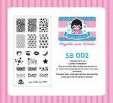 Placa Sugar Bubbles - SB002