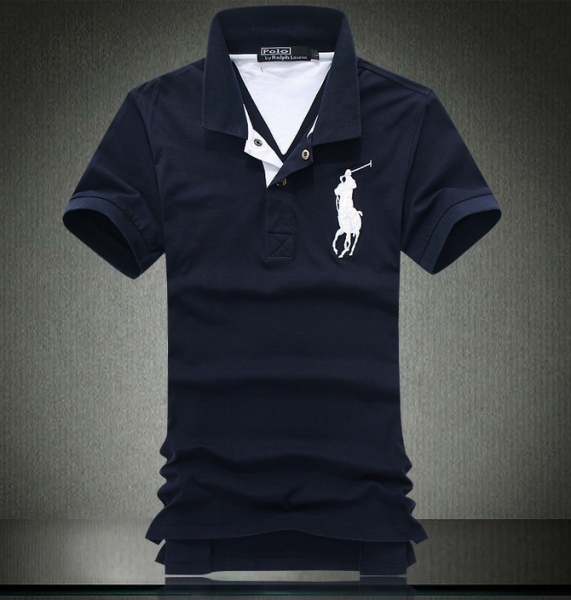 20c9d3cf6b2aa Camisa Polo Ralph Lauren - Azul Marinho - JSM Importados