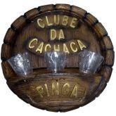 placa club da cachaça resina