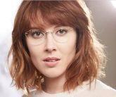 Cateyes Sem Aro Óculos Armações Óculos Titânio Mulheres Rx flexível