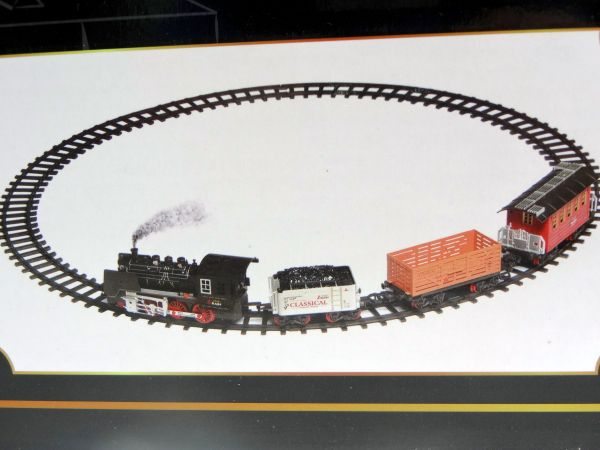 Ferrorama Express Clássico 20 Peças com Som e Luz à pilha WellKids