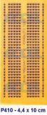 6 pçs P410 Placa Universal Imitando o Protoboard  + Livro Formulário de Eletrônica