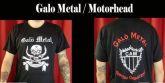 Galo Metal - Camisa Modelo Motorhead Clássica