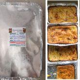 Torta de Carne Moída e Catupiri Grande