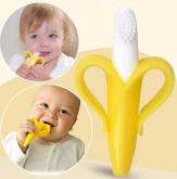 Escova Mordedor infantil Bananas