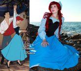 Ariel - A Pequena Sereia Plus Size FF3733
