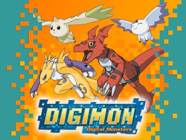 DVDs Desenho DIGIMON  - 1ª Temporada - Frete Gratis