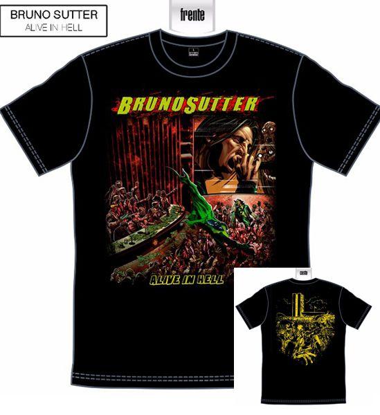 *LANÇAMENTO* Camiseta Bruno Sutter - Alive in Hell