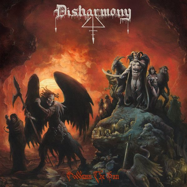 DISHARMONY - Goddamn the Sun - CD