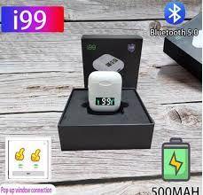 Fone de Ouvido Tws I99 Sem Fio Charger Wireless Bluetooth v5.0