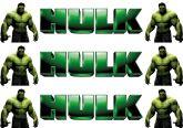 Papel Arroz Hulk Faixa Lateral A4 009 1un