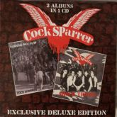 COCK SPARRER - SHOCK TROOPS/RUNNING RIOT IN' 84