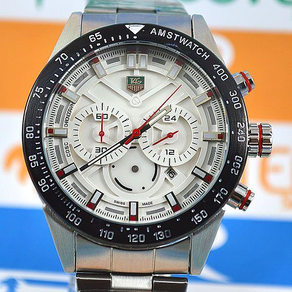 fffc780d0c3 Relógio Tag Heuer Formula 1 Funcional Prata Pulseira Aço Masculino à prova  D´água