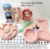 Kit Combo Nina Sereia + olhos  382P