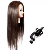 Cabeça de Boneca 100% humano - Treino Cabeleireiro