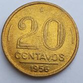 20 Centavos 1956 SOB/FC