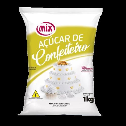 Açúcar de Confeiteiro Mix 1kg 1un