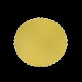 Cake Board Ouro Redondo 260mm 1un