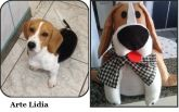 Cachorrinho em feltro personalizado