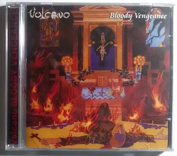 CD - Vulcano - Bloody Vengeance (+DVD)