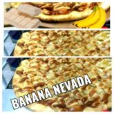 PIZZA  BANANA NEVADA CHOC BRANCO