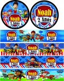 Adesivos Personalizados de festas para adesivar Mini Refri e Água Mineral