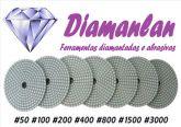 Lixas D'agua diamantada Polimento em Vidros unitário