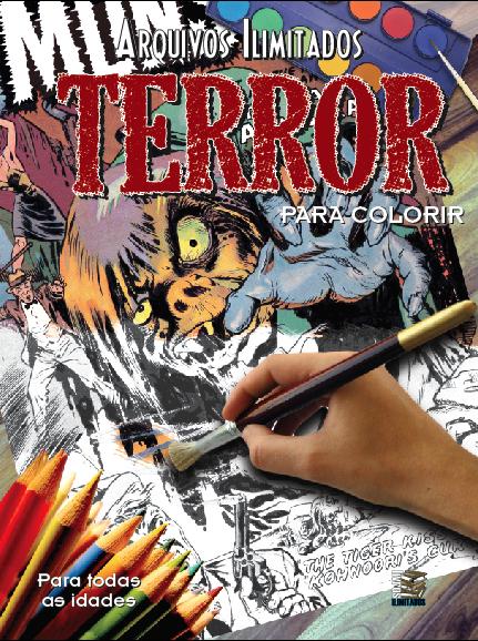 Arquivos Ilimitados para colorir: Terror