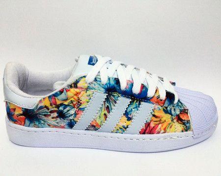bce668e95ed437 Tênis Adidas Superstar Floral - Outlet Ser Chic