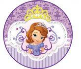 Papel Arroz Princesa Sophia Redondo 006 1un