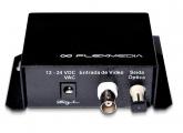 FM-FO-VR-4K Receptor de Vídeo p/ Fibra Multimodo até 4 km - 1 Canal