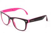 Armação de óculos Thomaston Dobrável Preto e Rosa
