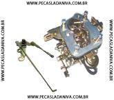 Carburador Weber Adaptado P/ o Niva Com Os Comandos de Acionamento e terminais  (Novo) Ref.0674
