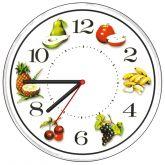 Relógio Parede Decorativo Cozinha Frutas