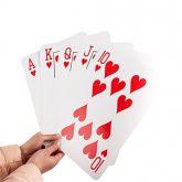 Baralho Gigante (52 cartas) 20cmx30cm #1431