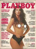 PLAYBOY MAGAZINE BRAZIL # 194 - ANDREA GUERRA -  SEP 1991 HOT!!