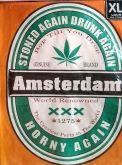 Camiseta Amsterdam Stoned Drunk Horny Again Feminina